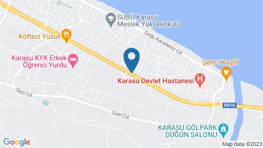 Karasu Aqua Park Otel Map