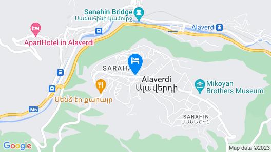 Sanahin Bridge Hotel Map