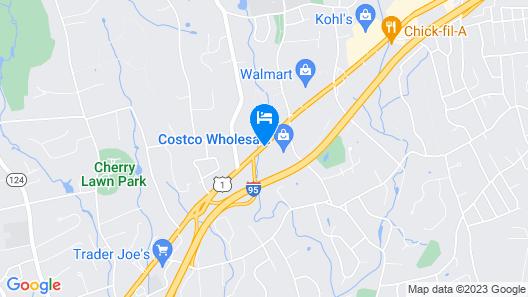 DoubleTree by Hilton Norwalk Map