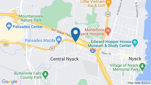 Super 8 by Wyndham Nyack NY Map