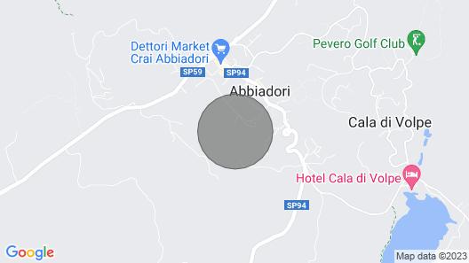 Pevero Hill 1 Map