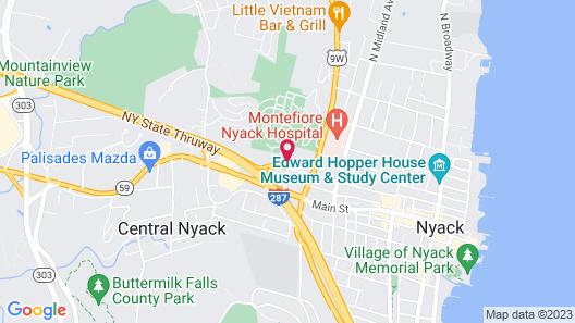 Hotel Nyack, a JdV by Hyatt Hotel Map