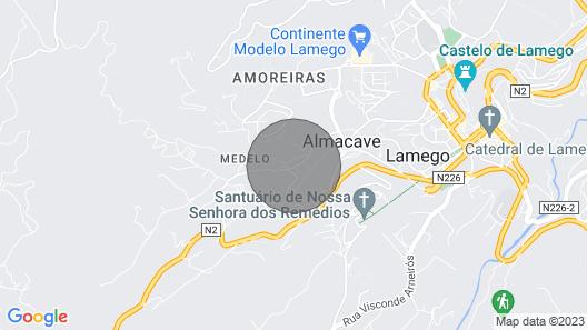 Casa da Quinta do Paco Douro Map