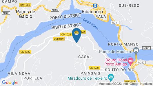 Quinta da Ventuzela Map