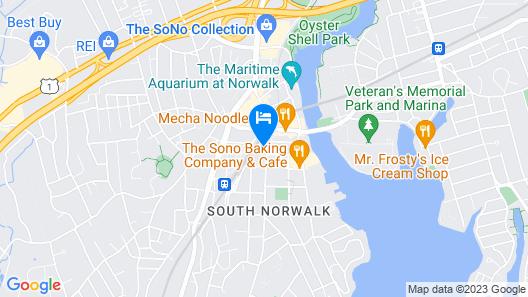 Residence Inn by Marriott Norwalk Map