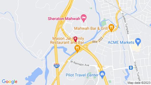 Sonesta Select Mahwah Map