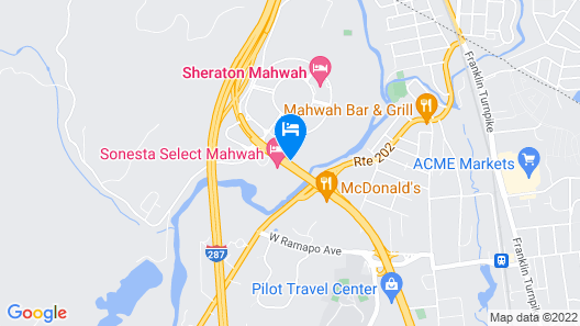 Courtyard by Marriott Mahwah Map