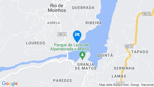 Quinta do Regato Douro Map