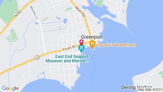 The Harborfront Inn Map