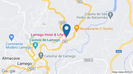 Lamego Hotel & Life Map
