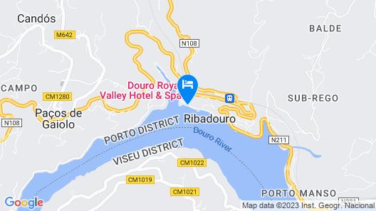 Douro Royal Valley Hotel & SPA Map