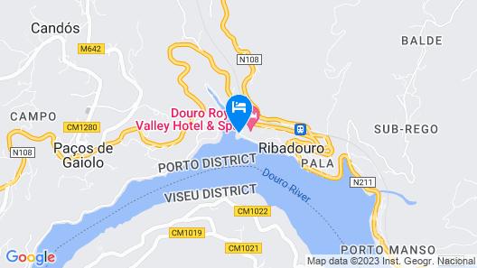 Douro Suites Map