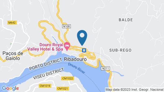 Quinta Do Loureiro - Douro Valley- Private Pool - Stunning Views Map