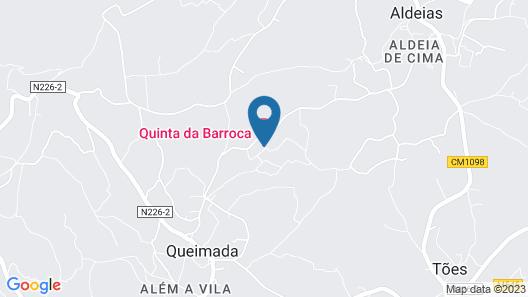 Quinta da Barroca Map