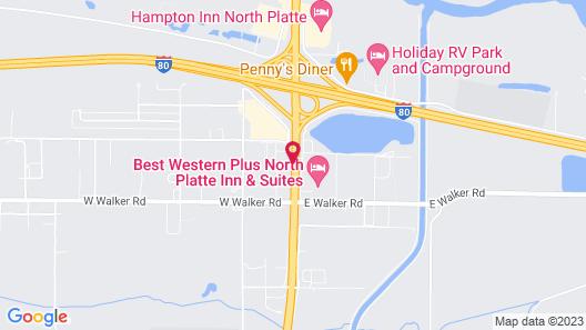 Days Inn by Wyndham North Platte Map