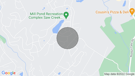 Home W/games + Pool Access ~ 3Mi to Bushkill Falls Map