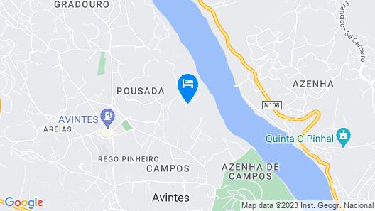 Quinta da Agraceira Map