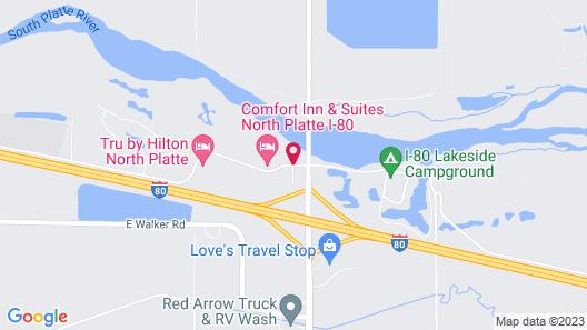 La Quinta Inn & Suites by Wyndham North Platte Map