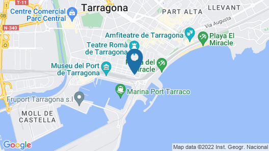 Port Plaza Apartments Map
