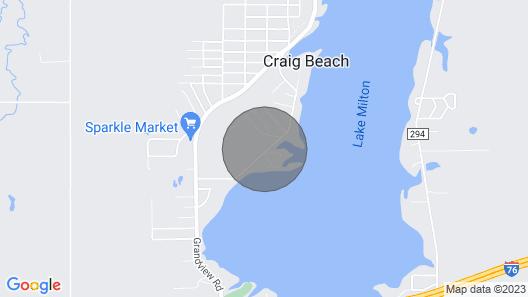 Lakeside Living Awaits at Beautiful Lake Milton, OH Map