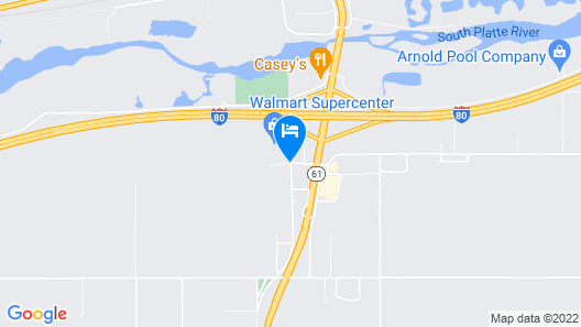 Holiday Inn Express & Suites Ogallala Map