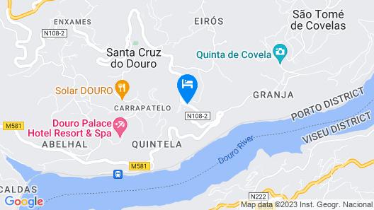 Casa da Mouta - Douro Valley Map