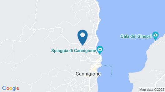 Grand Hotel Cannigione Map