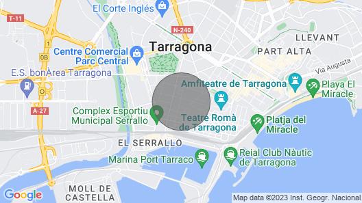 Attic Tarraco Arena Plaza Map
