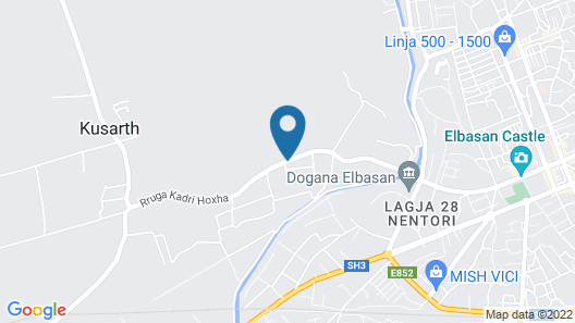Le Olive Hotel Map