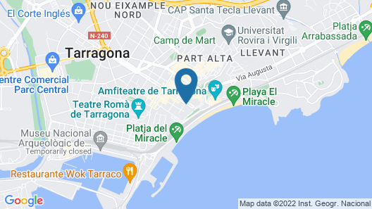 Hotel Lauria Map