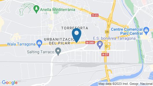 Hotel Tarraco Park Map