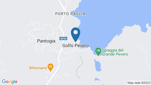 Cala di Volpe, a Luxury Collection Hotel, Costa Smeralda Map