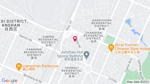 Futian Business Hotel Map