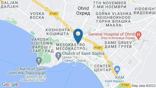 Luccia Apartments Map