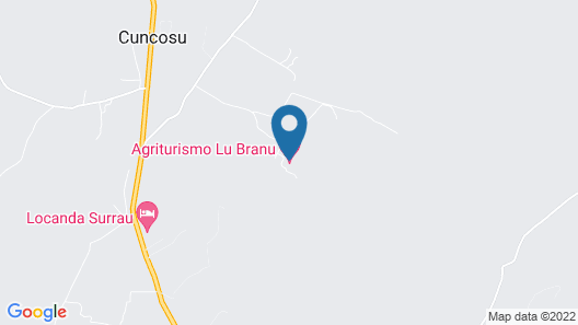 Agriturismo Lu Branu Map