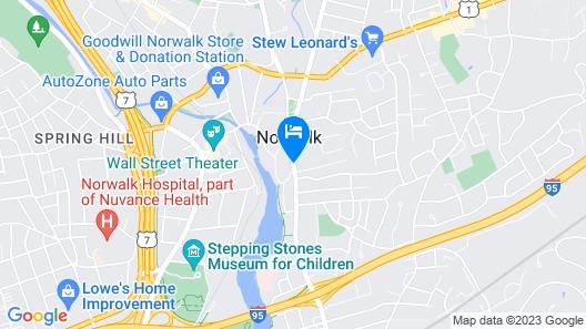 Norwalk Inn Map