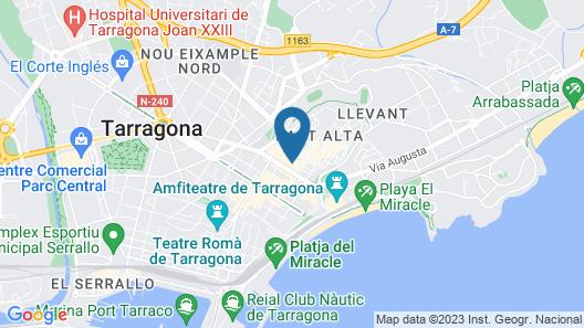 Forum Tarragona Map