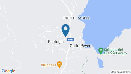 Villa Anna Map