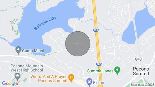 Pocono Home! LAKE, HOT TUB, FIRE PIT and Kalahari Map