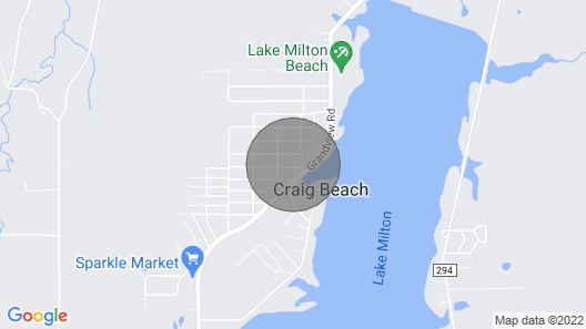 4 Bedroom Lake View Updated Vacation Rental Lake Milton, Oh Map