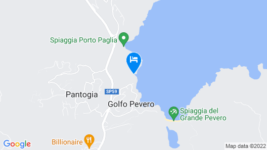 Hotel Romazzino, a Luxury Collection Hotel, Costa Smeralda Map