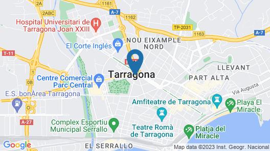 Hotel SB Ciutat de Tarragona Map
