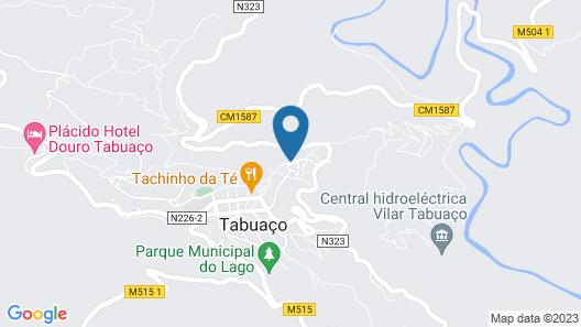 Plácido Hotel Douro - Tabuaço Map