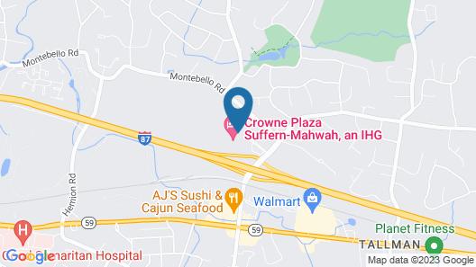 Crowne Plaza Suffern - Mahwah Map
