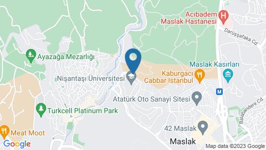 Somerset Maslak Istanbul Map