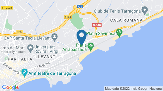 Nuria Hotel Map