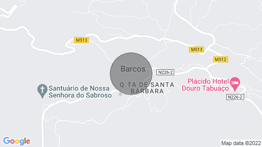 Refugio D'Anita Douro Valley House  Map