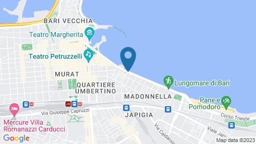 iH Hotels Bari Grande Albergo delle Nazioni Map