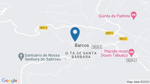 Refúgio D'Anita Douro valley house Map