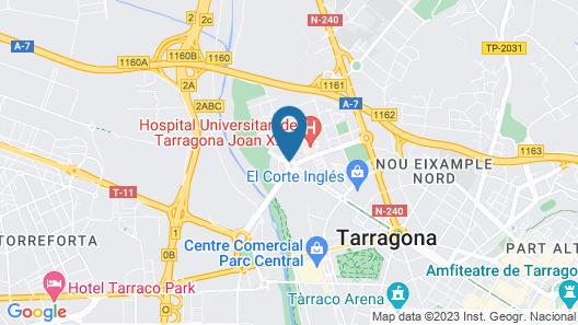 Hotel SB Express Tarragona Map